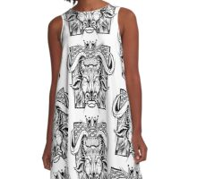 Royal Bull A-Line Dress