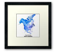 North American League Ver. 2 Framed Print