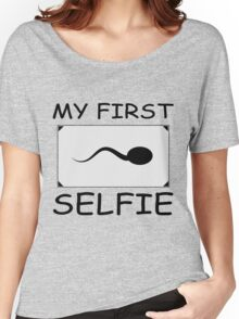My First selfie gift design Women's Relaxed Fit T-Shirt