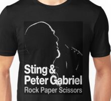 sting and peter gabriel tour Unisex T-Shirt
