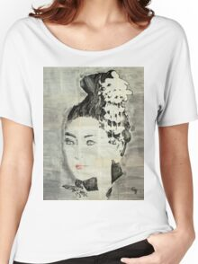 Spring portrait. Women's Relaxed Fit T-Shirt