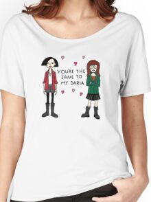 Jane to my Daria Women's Relaxed Fit T-Shirt