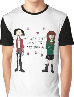 Jane to my Daria Graphic T-Shirt