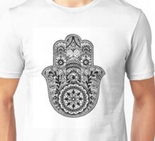 Intricate Hamsa Hand Unisex T-Shirt