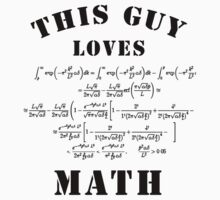 This guy loves math by Stock Image Folio