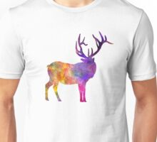Elk 04 in watercolor Unisex T-Shirt