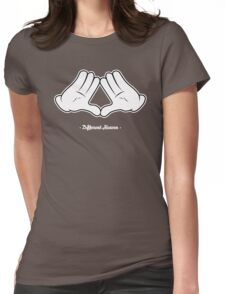 Different Heaven Hands Womens Fitted T-Shirt
