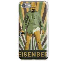 Heisenberg Retro poster iPhone Case/Skin