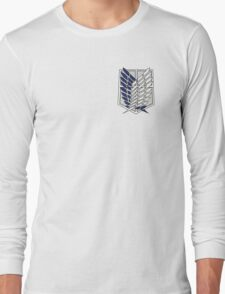 Attack on titan - Survey Corps Long Sleeve T-Shirt