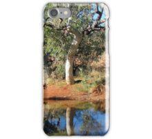 Canning Stock Route. Western Australia-waterhole campsite iPhone Case/Skin