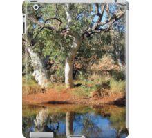 Canning Stock Route. Western Australia-waterhole campsite iPad Case/Skin