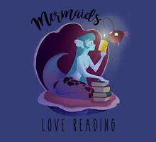 Mermaids love reading Hoodie
