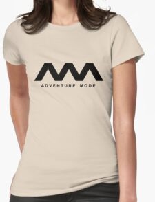 Basic Black Womens Fitted T-Shirt