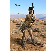 Native Huntress Photographic Print
