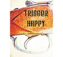 Trigger Happy Photographic Print