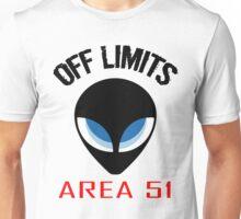 Off Limits Area 51 Alien Design Unisex T-Shirt