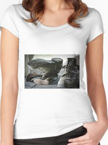 Old boots Women's Fitted Scoop T-Shirt