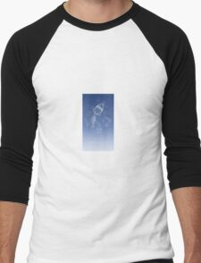 Aquarius Zodiac constellation - Starry sky Men's Baseball ¾ T-Shirt
