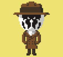 Rorschach Pixels One Piece - Short Sleeve