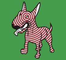 English Bull Terrier Target Red Kids Clothes