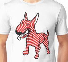 English Bull Terrier Target Red Unisex T-Shirt