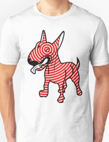 English Bull Terrier Target Red T-Shirt