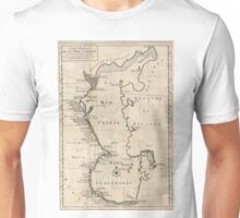 Vintage Map of The Caspian Sea (1730) Unisex T-Shirt