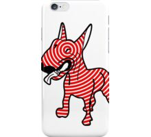 English Bull Terrier Target Red iPhone Case/Skin