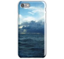 Incoming Storm on the Indian Ocean iPhone Case/Skin