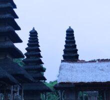 Balinese Temple on side Sticker