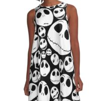 Nightmare before christmas A-Line Dress