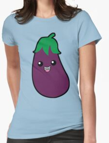 Eggplant Is Yummy Womens Fitted T-Shirt