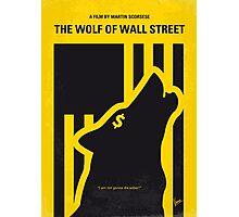 No338 My wolf of wallstreet minimal movie poster Photographic Print