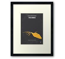 No110 My Birds minimal movie poster Framed Print