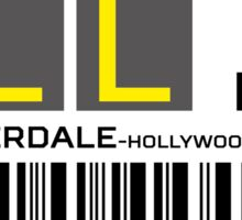 Destination Fort Lauderdale Airport Sticker