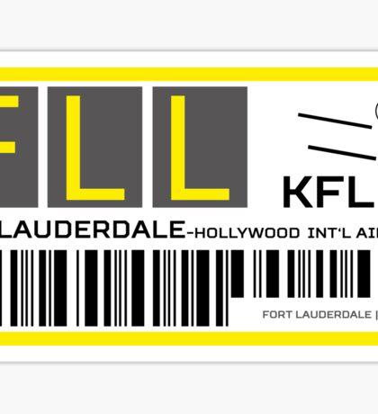Destination Fort Lauderdale Airport Sticker