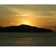Sunrise at Komodo Island Photographic Print