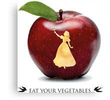 Eat you vegetables Canvas Print