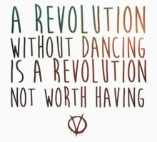 A Revolution without dancing by Jodi  Magi