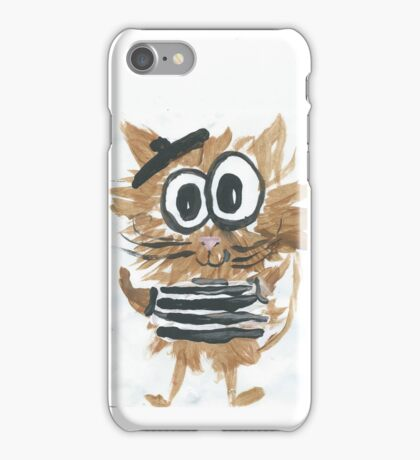 Little French Cat. iPhone Case/Skin