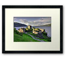 Urquart Castle  Framed Print