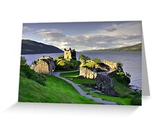 Urquart Castle  Greeting Card