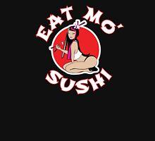 Asian Sushi Girl - Eat Mo' Womens Fitted T-Shirt