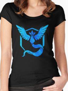 Team Mystic Women's Fitted Scoop T-Shirt