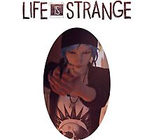 Life is strange Chloe with gun Photographic Print