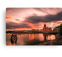 Cardiff bay sunset Canvas Print