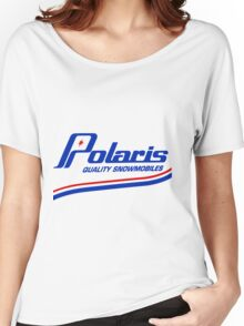 Polaris Vintage Snowmobiles USA Women's Relaxed Fit T-Shirt