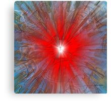 Love Explosion - Abstract  Art + Products Design  Canvas Print