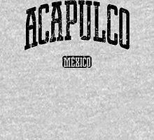 Acapulco Mexico (Black Print) Unisex T-Shirt