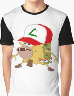 sponge bob pokemon go  Graphic T-Shirt